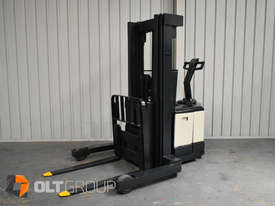 Used Crown WR3000 Walkie Reach Truck Container Mast Full Free Lift 1500kg Capacity - picture1' - Click to enlarge