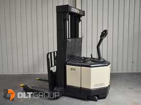 Used Crown WR3000 Walkie Reach Truck Container Mast Full Free Lift 1500kg Capacity - picture3' - Click to enlarge