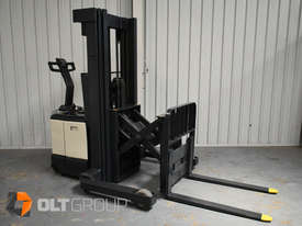 Used Crown WR3000 Walkie Reach Truck Container Mast Full Free Lift 1500kg Capacity - picture7' - Click to enlarge