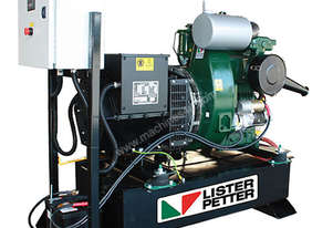 5.5kVA, Single Phase, Lister Petter Diesel Standby Generator