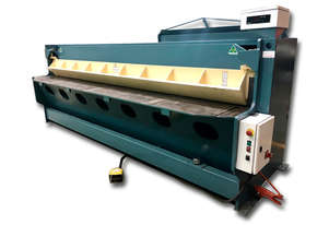 EPIC 3710mm x 3mm Steel Hydraulic Under Driven Guillotine