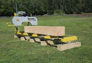 SAWMILL ELECTRIC START  frontier Sawmill OS31 14HP Portable Band saw Mill Australian design