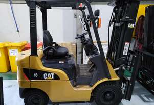 CAT 1.8T Diesel Forklift DP18N - Price Reduced to Clear