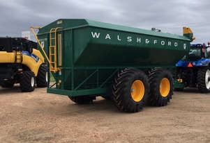 Walsh & Ford 30T Haul Out / Chaser Bin Harvester/Header
