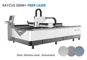 500W+ Economical 1.3x2.5m Metal cutting Fiber Laser - EOFY SALE! Delivery/install included