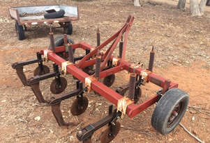 Agrowplow 7 Tyne Chisel Plough/Rippers Tillage Equip