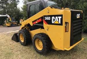 CAT 246D Skid Steer, Caterpillar 2016 Model