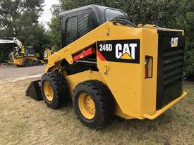 CAT 246D Skid Steer, Caterpillar 2016 Model  - picture0' - Click to enlarge