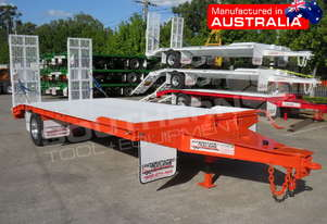 Single Axle Tag Trailer 11 Ton Orange ATTTAG