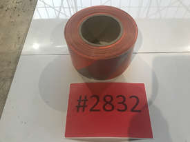 Orange Silver Barricade Tape 100m x 75mm - Single Roll - picture2' - Click to enlarge