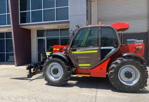 Used Manitou MT732 Telehandler with Forks