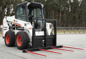 Himac Skid Steer 4 Spear Hay Forks