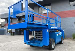 Genie GS3268 Rough Terrain Scissor Lifts.  10 year Re-Certs completed 26' 32' & 43'