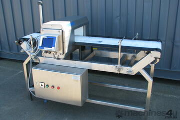 Stainless Conveyor Metal Detector - 300 x 130mm Opening - Lock MET30