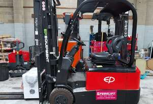 EP 1.8T Three-Wheel Lithium Battery Electric Forklift