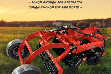 Rocca SupaTill High Speed Disc ST-175 With Rear Wheel Kit Special For Vineyard 80Hp Tractor Required
