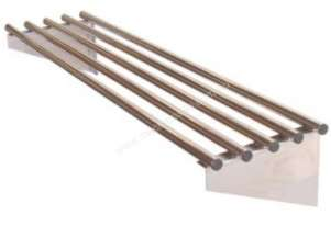 Brayco PIPE900 Stainless Steel Pipe Shelf (900mmLx