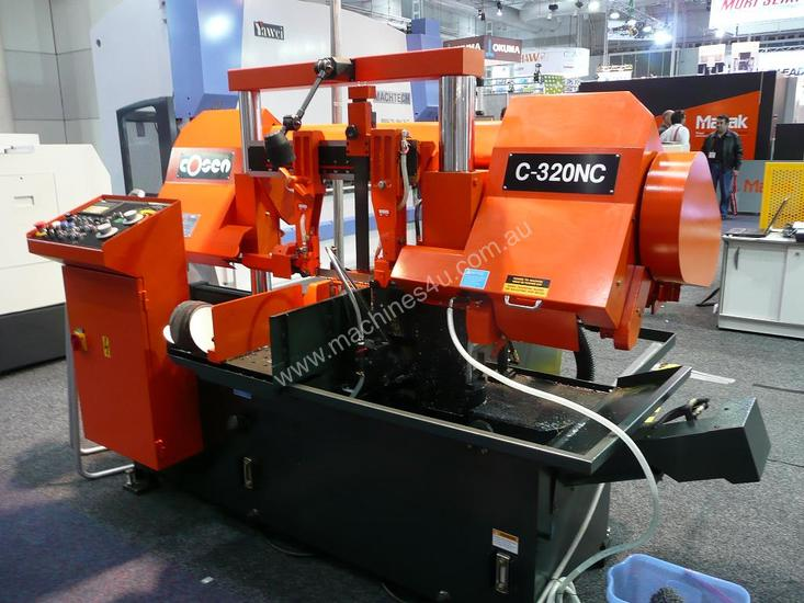 COSEN C-320NC. Fully automatic, horizontal bandsaw