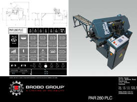 Brobo Bandsaw PAR280PLC Fully Automatic Band Saw - picture1' - Click to enlarge
