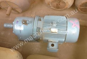 Teco 18.5kW Geared motor at 153RPM