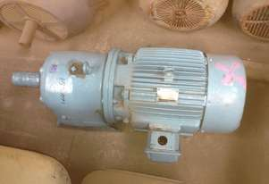 18.5kW Geared motor at 153RPM