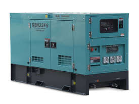 22 KVA Diesel Generator 240V FAW Engine - 2 Years Warranty - Mine Site Spec - Single Phase - picture0' - Click to enlarge