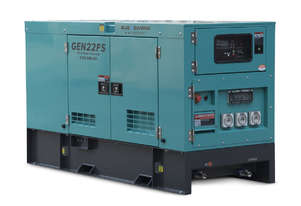 22 KVA Diesel Generator 240V FAW Engine - 2 Years Warranty - Mine Site Spec - Single Phase
