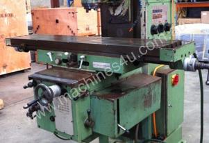 MRF Universal Milling Machine Heavy Duty - Spanish