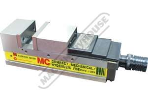CHV-130V Safeway Compact Hydraulic Vice 130mm Jaw Width 180mm Jaw Opening