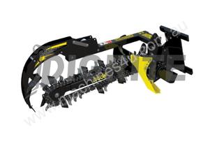 NEW DIGGA MINI LOADER CHAIN TRENCHER
