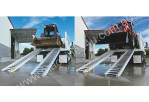 Truck Loading Ramps Heavy Duty Pneumatic Range