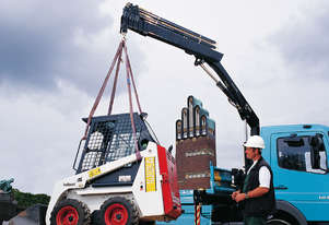 Hiab 5TM crane with Radio Remote