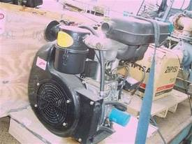 20 hp air cooled deisel engines , electric start - picture0' - Click to enlarge