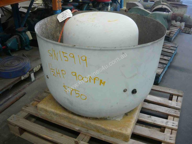 INDUSTRIAL FUME/EXHAUST EXTRACTION FAN