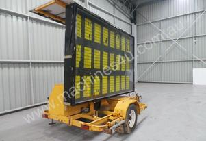 2000 Trailer Factory EHD Sign Board