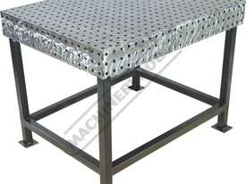 FBL90120-M CertiFlat fabBLOCK 3D Welding Table 900 x 1200 x 860mm (LxWxH) Tab & Slot U-Weld - picture0' - Click to enlarge