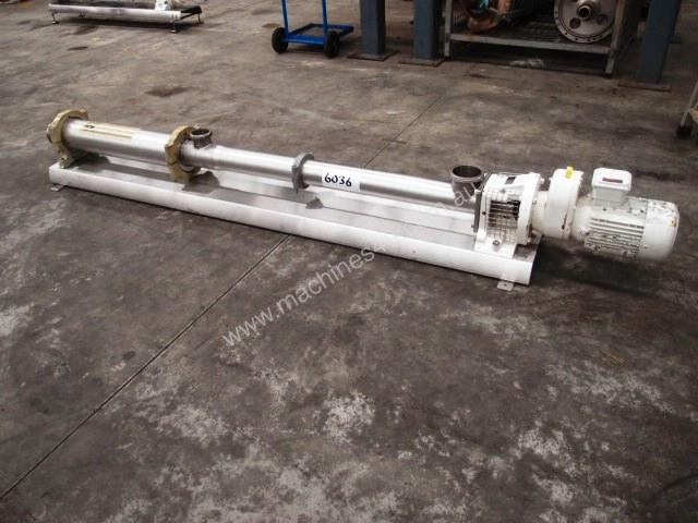 Helical Rotor Pump - In: 100mm Out: 100mm.