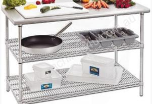F.E.D. SHSB/2-15 - Stainless Steel Top Utility Bench