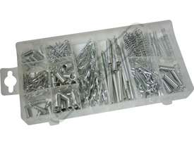 Spring & Hitch Pin Assortment 175 Piece
