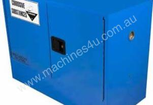 100 L Corrosive Safety Cabinet 2 Doors and Shelf