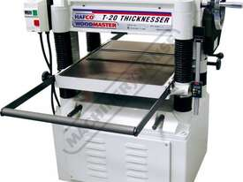T-20A Thicknesser - HSS Blades 508 x 200mm (W x H) Material Capacity  Includes 4 x High Speed Steel  - picture2' - Click to enlarge