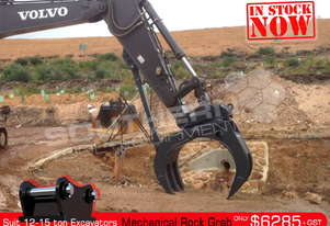 Mechanical Rock Grab suit 12-15T Excavator ATTGRAB