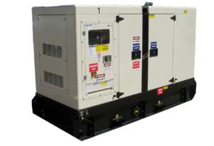 Generator - 100KVA Diesel Silenced Temporary, emergency and standby power