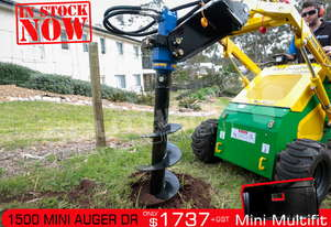 ML 1500 Auger Drive Unit. Suit Mini Loaders / Dingo Kanga ATTAGT
