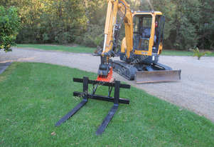 Excavator Pallet Forks Offer with Flail Mulcher purchase