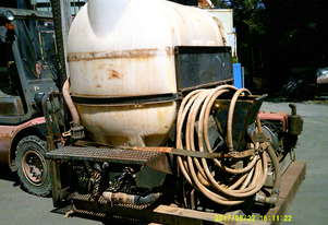mud mixing tank , diesel driven pump ,