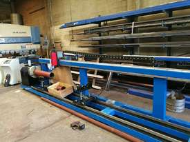 CNC pipe / tube plasma cutter 400mm diameter/ 6000mm long  - picture0' - Click to enlarge