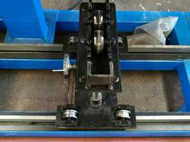 CNC pipe / tube plasma cutter 400mm diameter/ 6000mm long  - picture1' - Click to enlarge