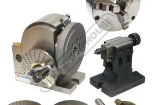 BS-1 Dividing Head - Semi Universal Package Deal 128mm Includes 160mm 3-Jaw Chuck
