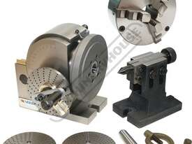 BS-1 Dividing Head - Semi Universal Package Deal 128mm Centre Height Includes 160mm 3-Jaw Chuck - picture0' - Click to enlarge